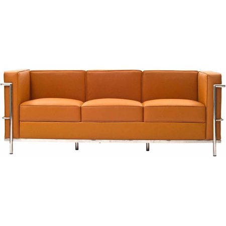Modway LC2 Leather Sofa, Multiple Colors