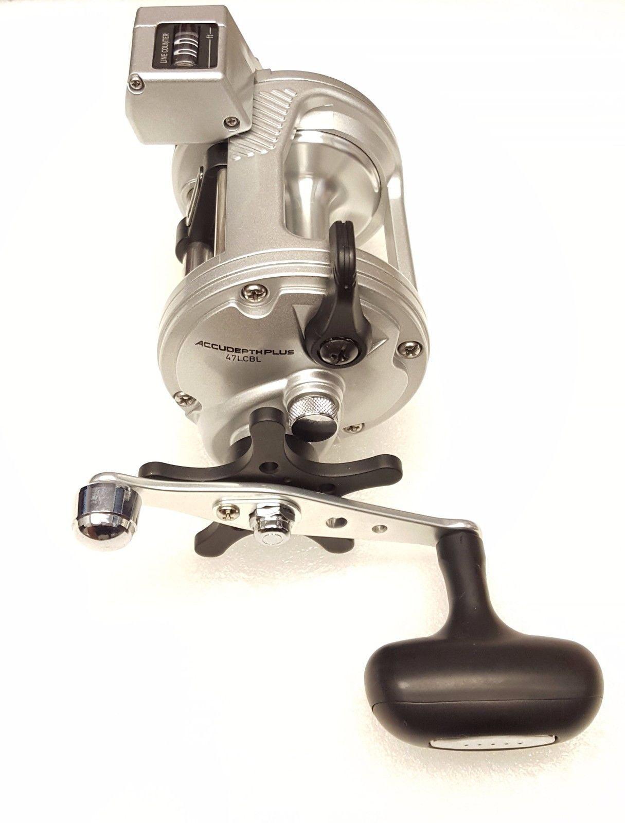 f931383c1b4 Daiwa Accudepth Plus-B 4.2:1 Line Counter Casting Fishing Reel, Left -  ADP47LCBL - Walmart.com