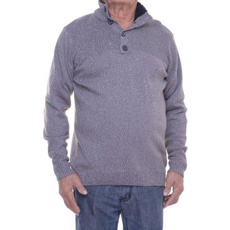 Tricots St Raphael Half Buttoned Polo Sweater Size S (Tricot Foil)