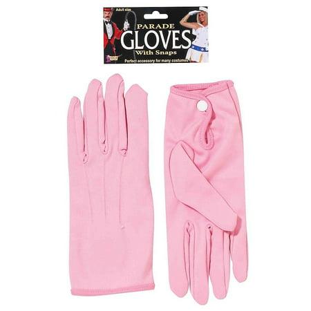 Tuxedo Parade Short Formal Santa Gloves With Snap 10