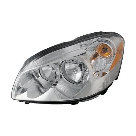 2006-2009 Buick Lucerne CX Halogen Headlight Driver Left Headlamp Assembly (w/o Cornering) - Buick Century Headlight Assembly