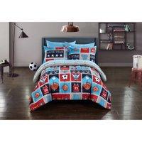 Mainstays Kids Athletics Bed-in-a-Bag Bedding Set