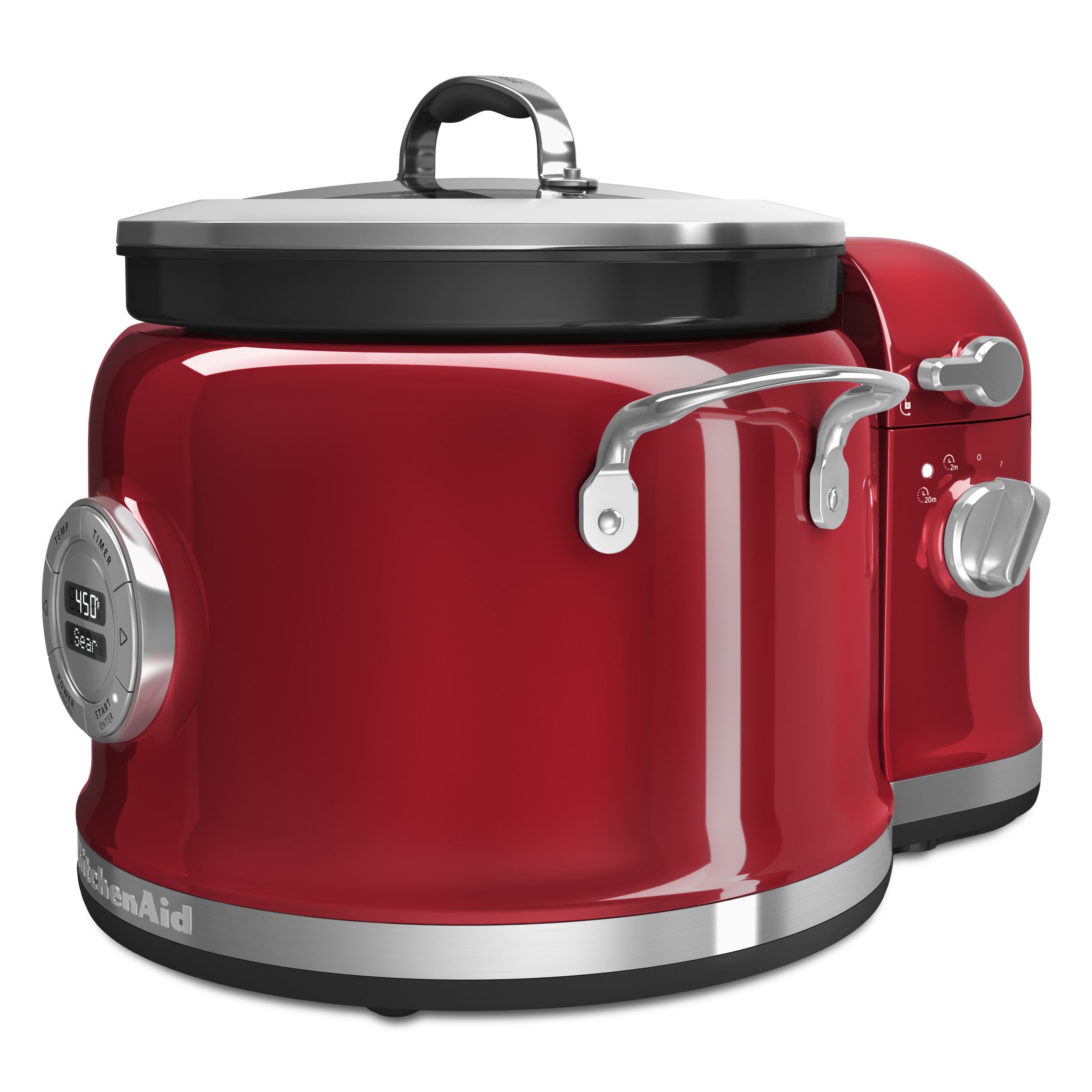 KitchenAid  Candy Apple Red 4-Quart Multi-Cooker with Stir Tower