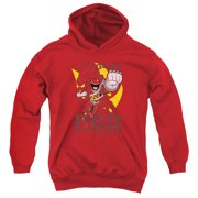 Mighty Morphin Power Rangers Go Red Big Boys Pullover Hoodie