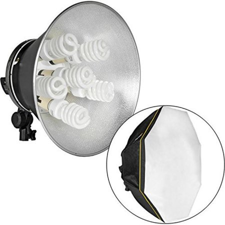 Impact Octacool 6 Fluorescent Light Kit With Octabox Lamps