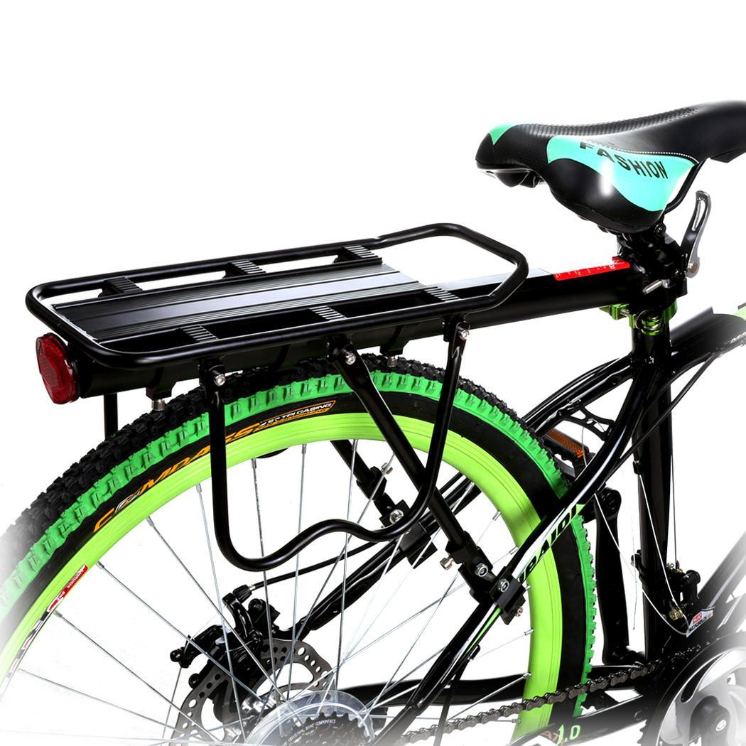 Bike Commuter Carrier Rack w/ Seatpost Quick Release Universal Rear Mount for Bicycle Cargo