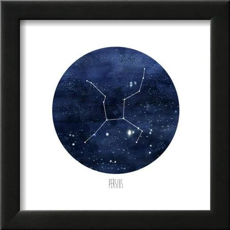 Constellation-Persius Framed Art Print Wall Art By Naomi McCavitt ...
