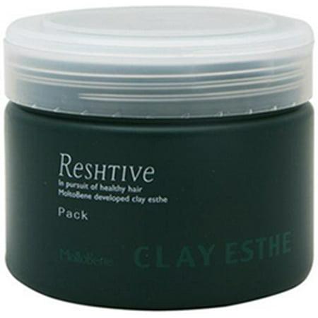 Molto Bene Clay Esthe Reshtive Pack (Size : 35.3 oz/liter-refill)