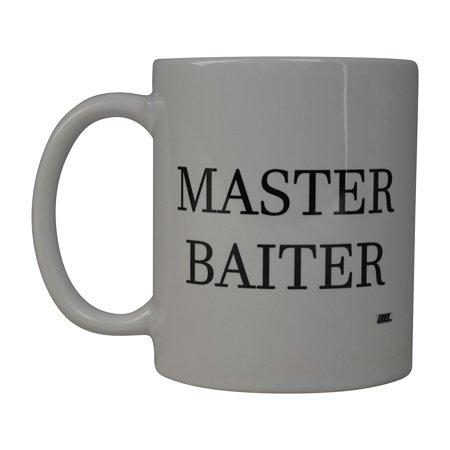 Rogue River Coffee Mug Fishing Fish Master Baiter Novelty Cup Great Gift Idea For Men Him Dad Grandpa Fisherman (Master)