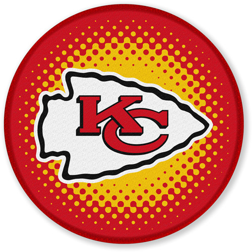 "NFL Kansas City Chiefs 24"" Bath Rug"