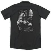 Dark Knight Rises Evil Rising (Back Print) Mens Work Shirt