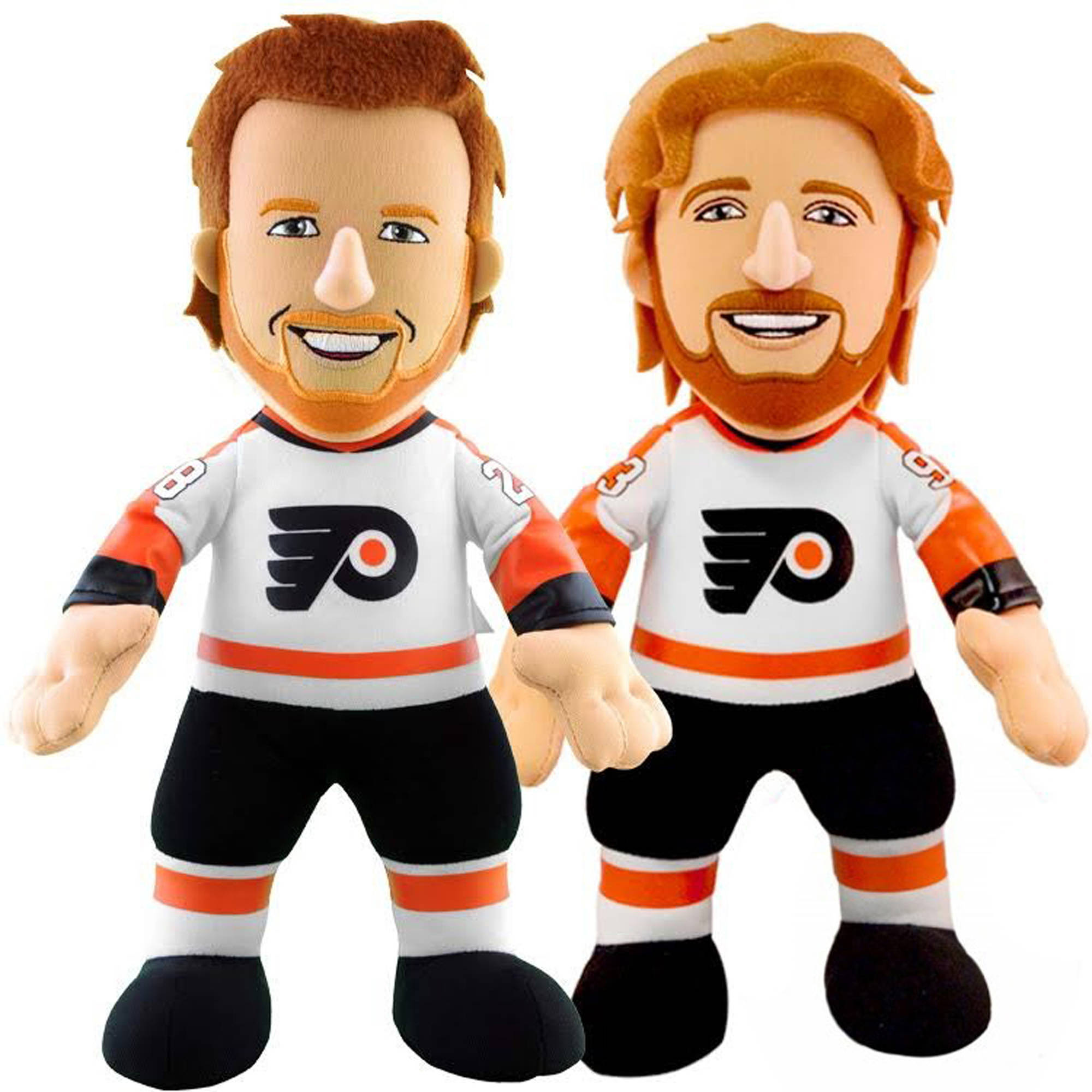 """Bleacher Creatures Dynamic Duo 10"""" Plush Figures, Flyers Girioux and Vorichek by Generic"""