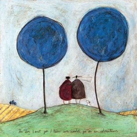 The Day I Met You Poster Print By Sam Toft 24 X 24