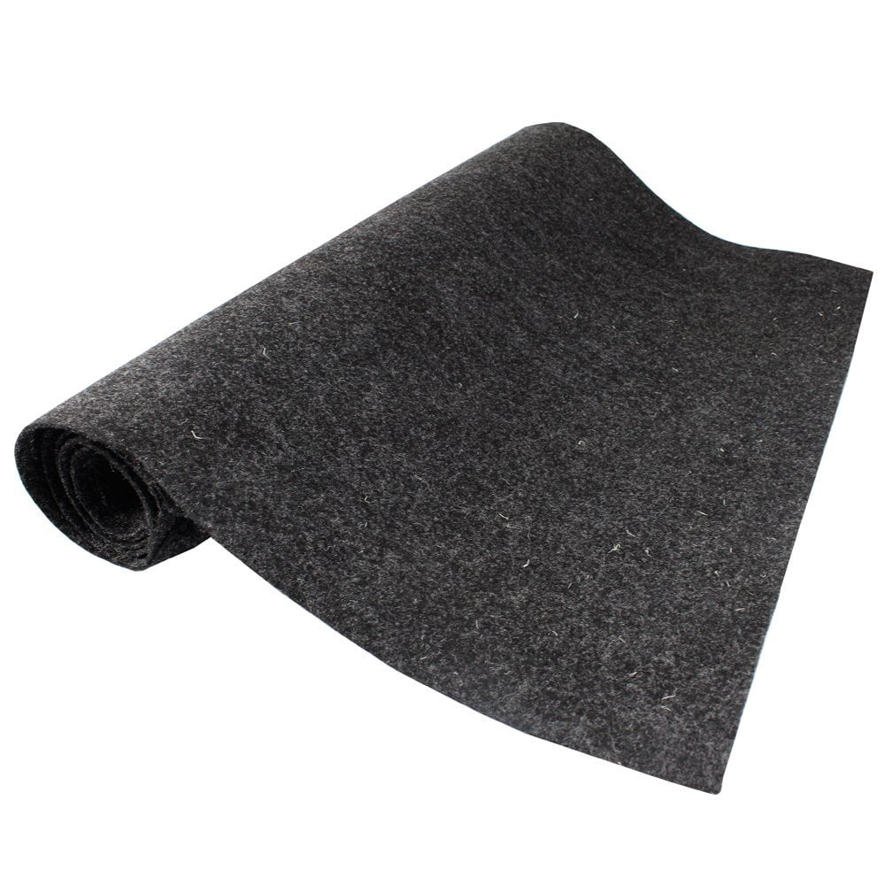 12 inch X78 inch Grey Car Boat Trunk Carpet Liner Mat Grey Durable Noise Control by Car Elements