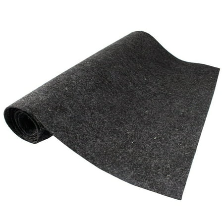 Car Carpet (12 inch X78 inch Grey Car Boat Trunk Carpet Liner Mat Grey Durable Noise Control )