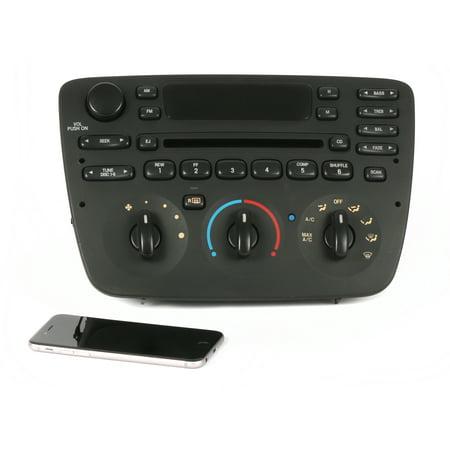 Ford Taurus Mercury Sable 2000 2001 2002 2003 2004 AM FM Radio CD w Bluetooth - Refurbished