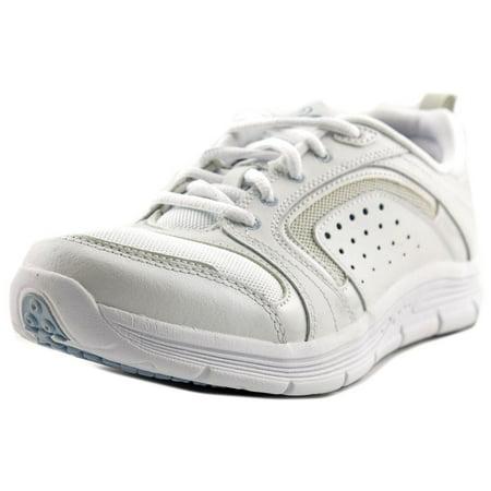 ca3c3d865b Antigravity By Easy Spirit - Antigravity By Easy Spirit Lite Walk Women  Round Toe Leather White Walking Shoe - Walmart.com