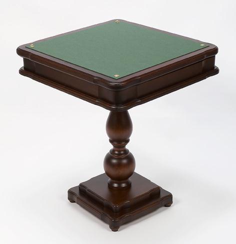 Cambor Backgammon, Chess, Checkers & Card Table From Italy