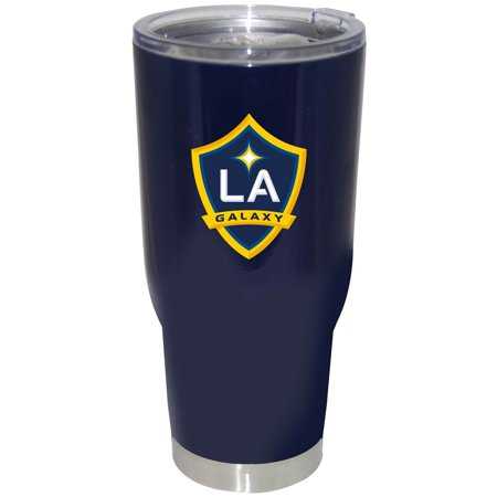 Stainless Steel Jacketed Tank - LA Galaxy 32oz. Powder Coat Stainless Steel Tumbler - No Size