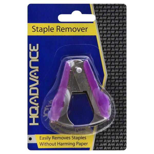 A & W HQ Advance Staple Remover, 1 ea by A & W