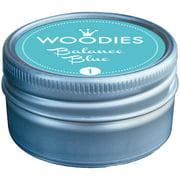 Woodies Dye-Based Ink Tin-Balance Blue