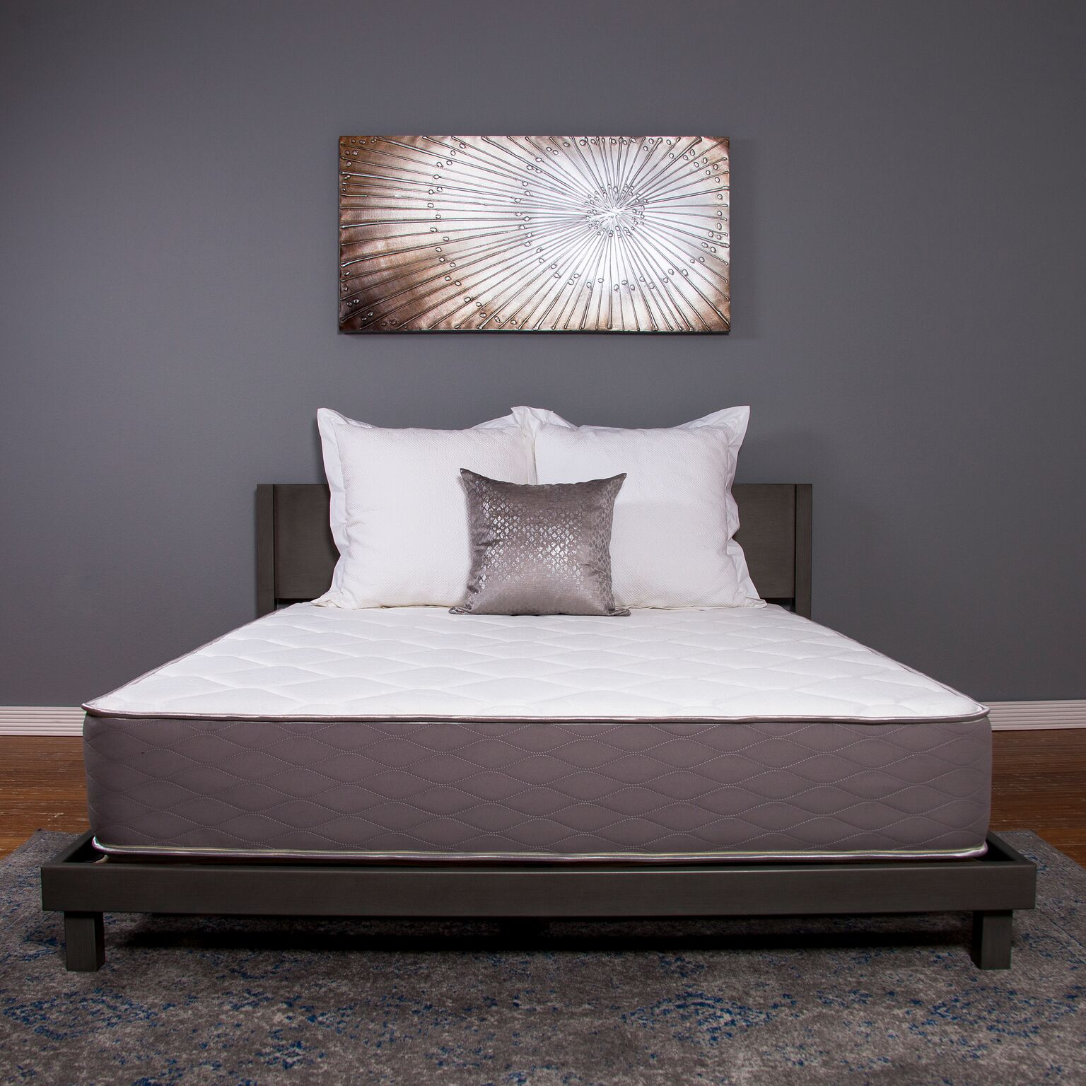"""DreamFoam Dreams 9"""" Two-Sided Medium Firm Pocketed Coil Mattress, Queen by Brooklyn Bedding"""
