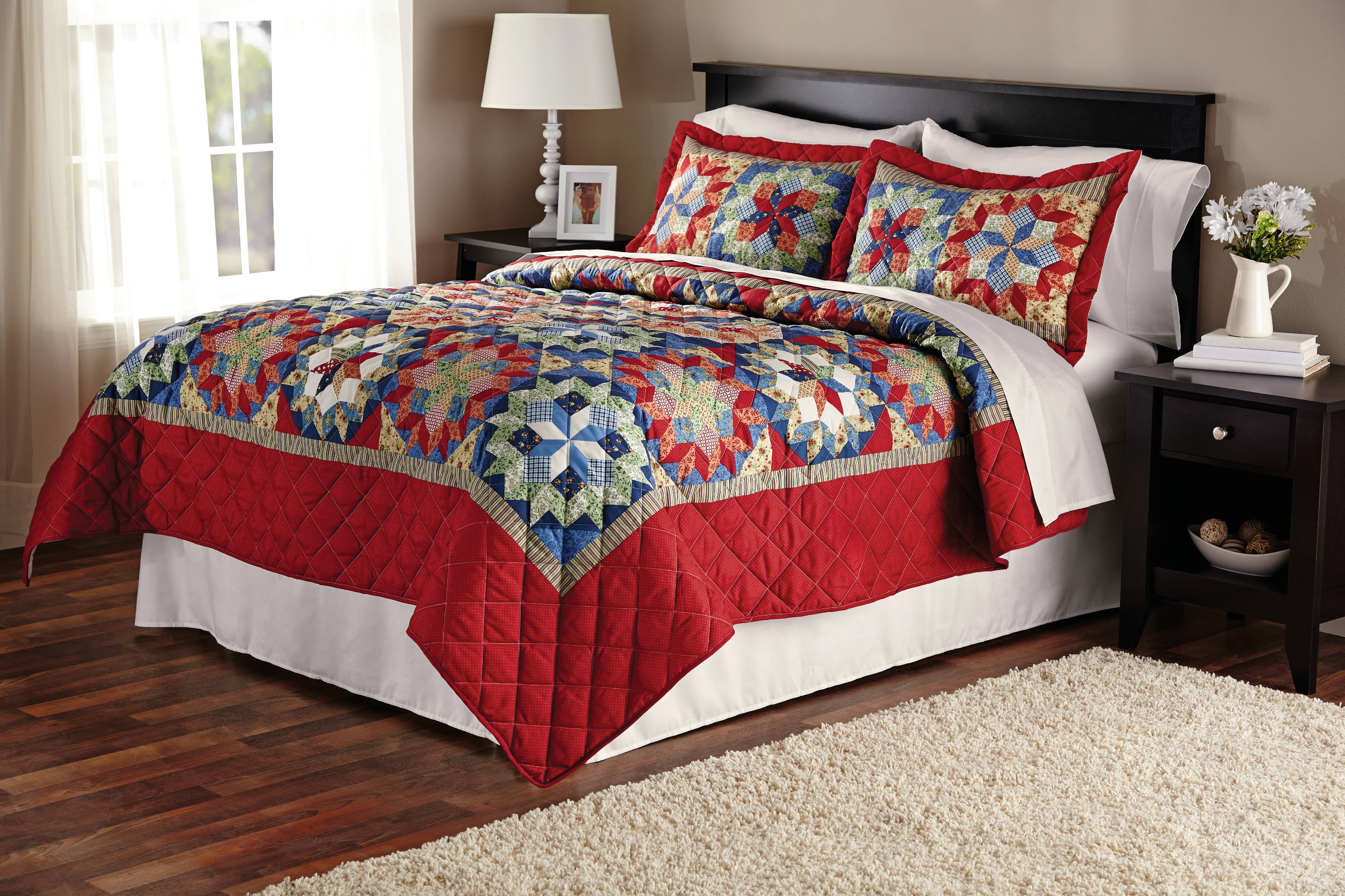 Mainstays Shooting Star Classic Patterned Quilt by ORIENT ASSET SHANGHAI HOME TEXTILES IMP AND EXP CO LTD