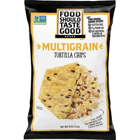 Food Should Taste Good Multigrain Tortilla Chips, 11 oz for $<!---->