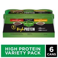 Purina Dog Chow High Protein Pate Wet Dog Food (Various Sizes)