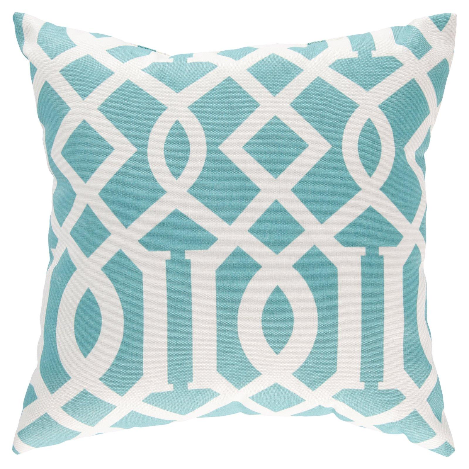 Surya Radiant Roman Numeral Indoor/Outdoor Pillow