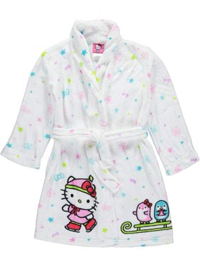 Hello Kitty And Friends Winter Magic Plush Toddler Robe