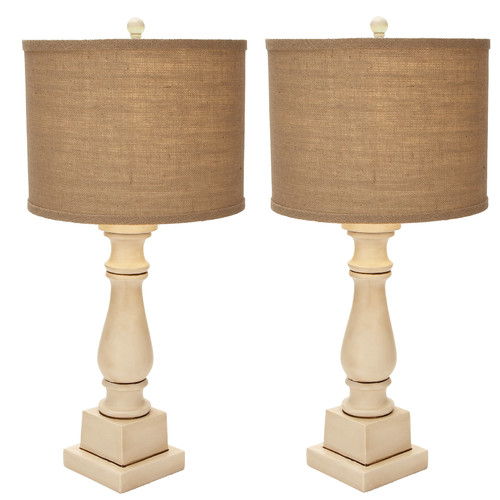 Urban Designs Adriana Candlestick 28'' Table Lamp (Set of 2)