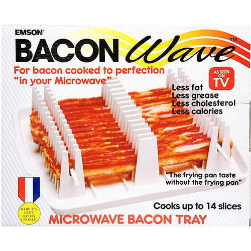 As Seen On Tv Microwave Bacon Cooker