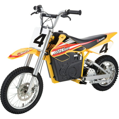 Razor Dirt Rocket Electric Powered MX650 - For Ages 16+ and Speeds up to 17 mph Husqvarna Dirt Bike