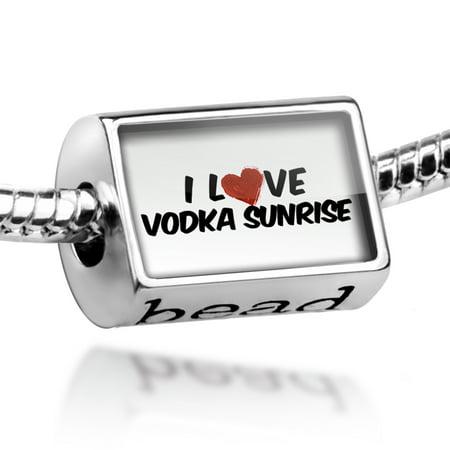 Bead I Love Vodka Sunrise Cocktail Charm Fits All European Bracelets](Halloween Vodka Cocktails)