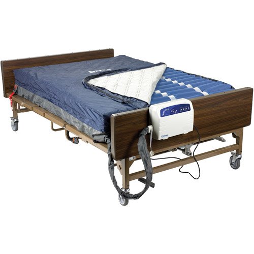 Drive Medical Med Aire Plus Bariatric Low Air Loss Mattress Replacement System