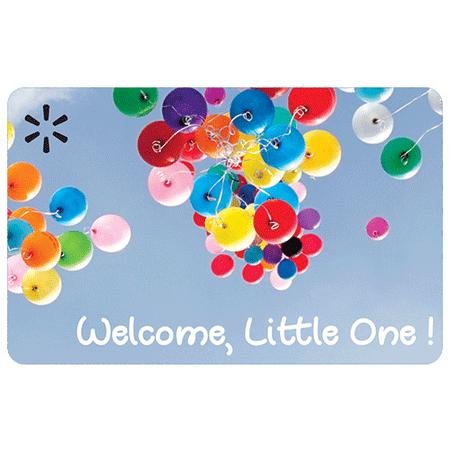 Welcome Little One Walmart eGift Card