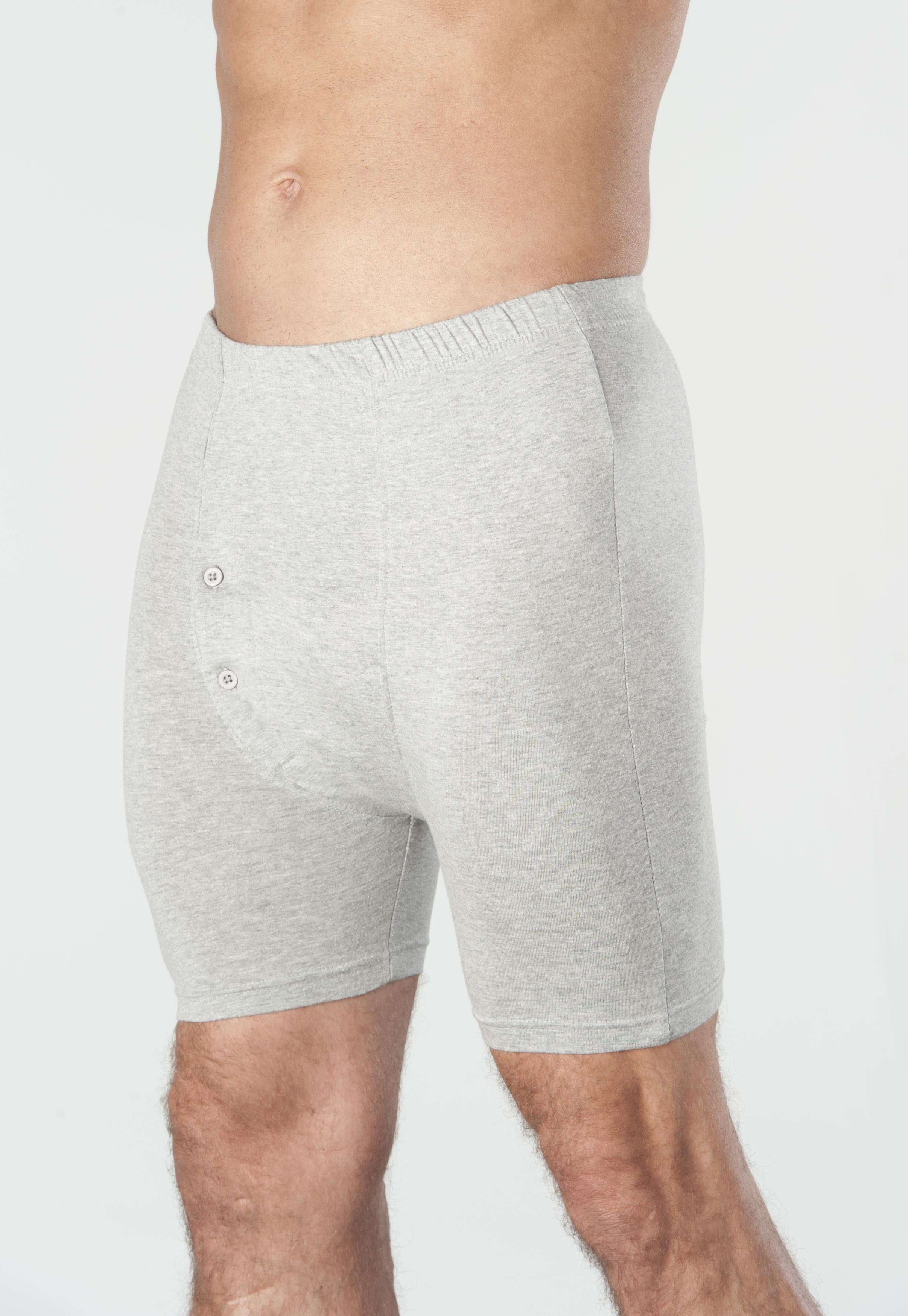 1-Pack Wearever Men's Incontinence Boxer Briefs Washable Reusable Bladder Control Underwear - Single