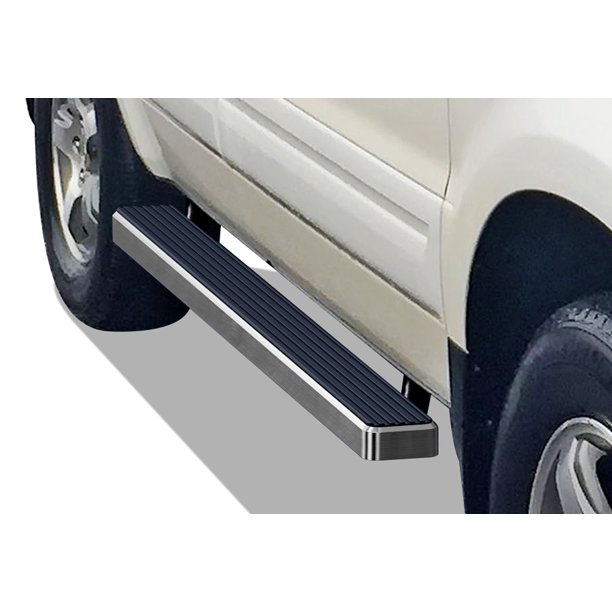 APS IBoard Running Boards 4 Inches Custom Fit 2003-2008