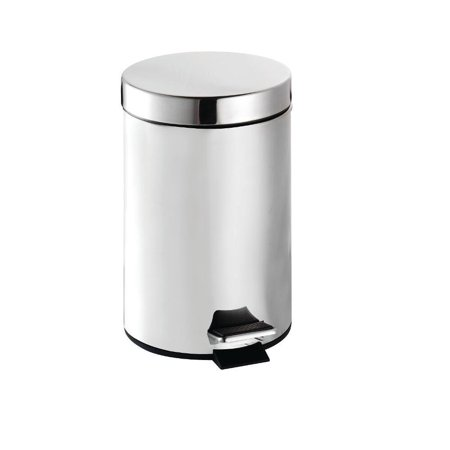 Metal Pedal Engine (Croydex Britannia Stainless Steel Three Litre Pedal Bin with Polished Chrome)