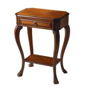 Butler Console Table - Olive-ash Burl