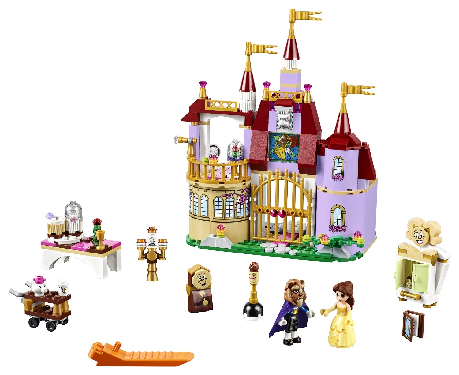 LEGO Disney Beauty /& the Beast Sticker Set 41067 Sticker Sheet Only! READ!