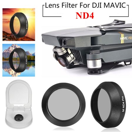 99.5% VLT Utral-thin HD Glass Lens Filter Cap Cover ND4 for DJI Mavic PRO RC Drone Camera Spare (How To Remove Glasses Lenses)