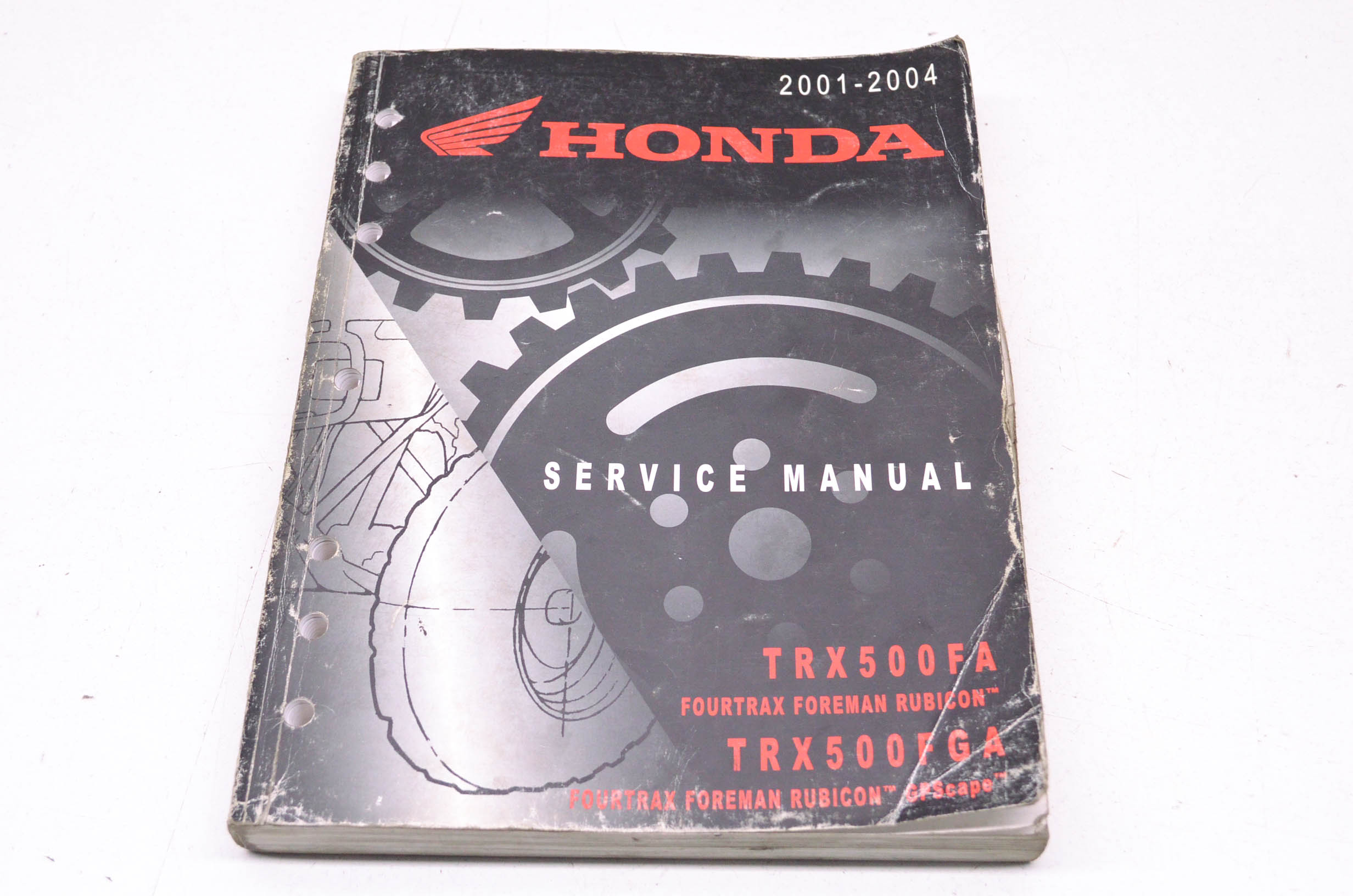 Honda 61HN203 01-04 TRX500FA, FourTrax, Foreman, Rubicon/GPScape, TRX500FGA  Service Manual QTY 1 - Walmart.com