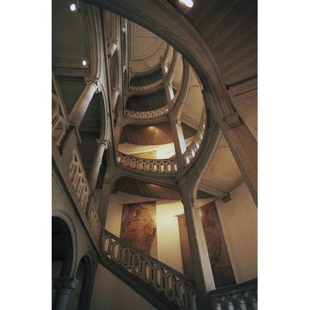 Staircase to Dungeon, Chateau of Chambery, Rhone-Alpes, France Print Wall Art](Dungeon Wall)
