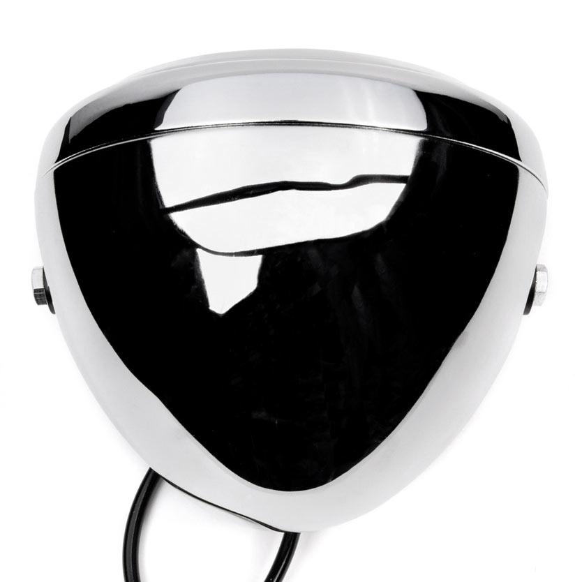 "Krator 7"" Chrome LED Motorcycle Headlight Side Mounting Running Light High / Low Beam - image 6 de 7"