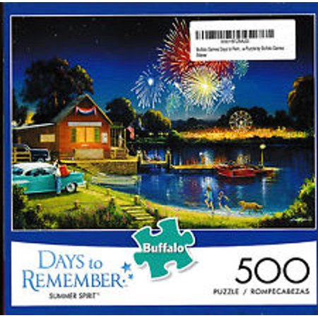 Buffalo Games 500-pc. Days To Remember American Spirit Jigsaw Puzzle