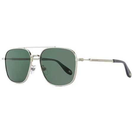 Givenchy Rectangular Sunglasses GV7033/S 01085 Palladium (Givenchy Men Sunglasses)