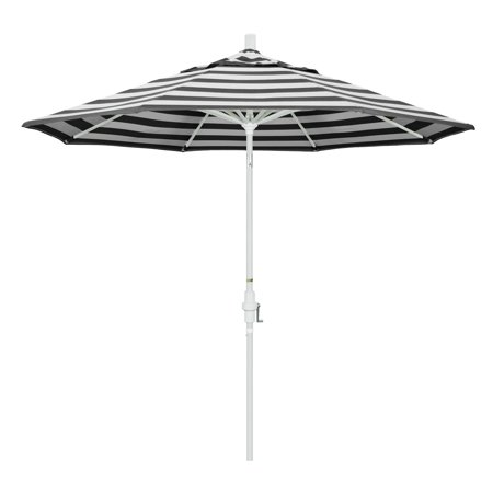 California Umbrella 9 ft. Sunbrella Aluminum Single Vent Tilt Market Umbrella ()