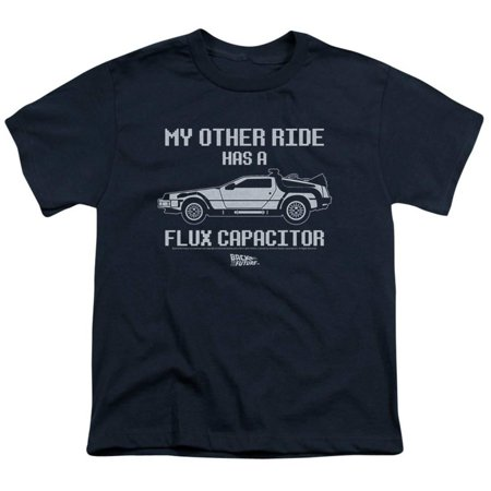 - Youth: Back To The Future- Other Ride Apparel Kids T-Shirt - Blue